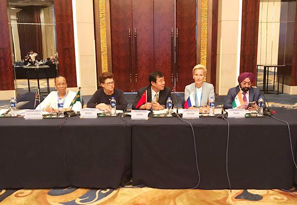Anna Nesterova took part in the meeting of the working groups of the BRICS Business Council