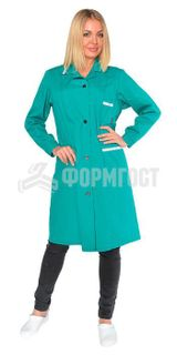 "Bathrobe ""Prestige"" for women, green"