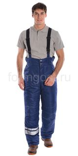 """Pants """"Deluxe"""" insulated, Navy blue"""