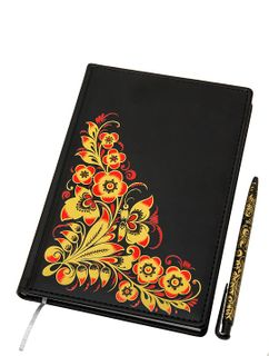 Set: notebook, pen souvenir