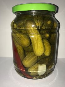Canned cucumbers, 720 gr.