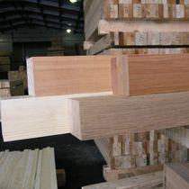 Glued oak, larch, eucalyptus timber