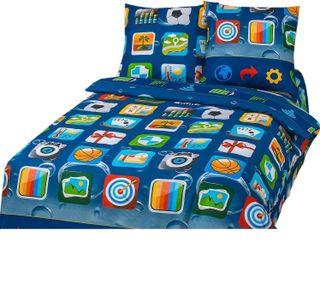 Bedding set Matrix 1.5 sleeping (coarse calico)