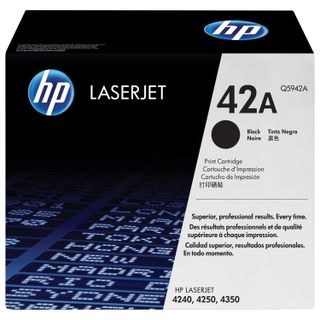 Toner cartridge HP (Q5942A) LaserJet 4250/4350 and others, # 42A, original, yield 10,000 pages