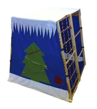 Cover-cape the Gnome's Lodge for a sports and game corner of KIDWOOD