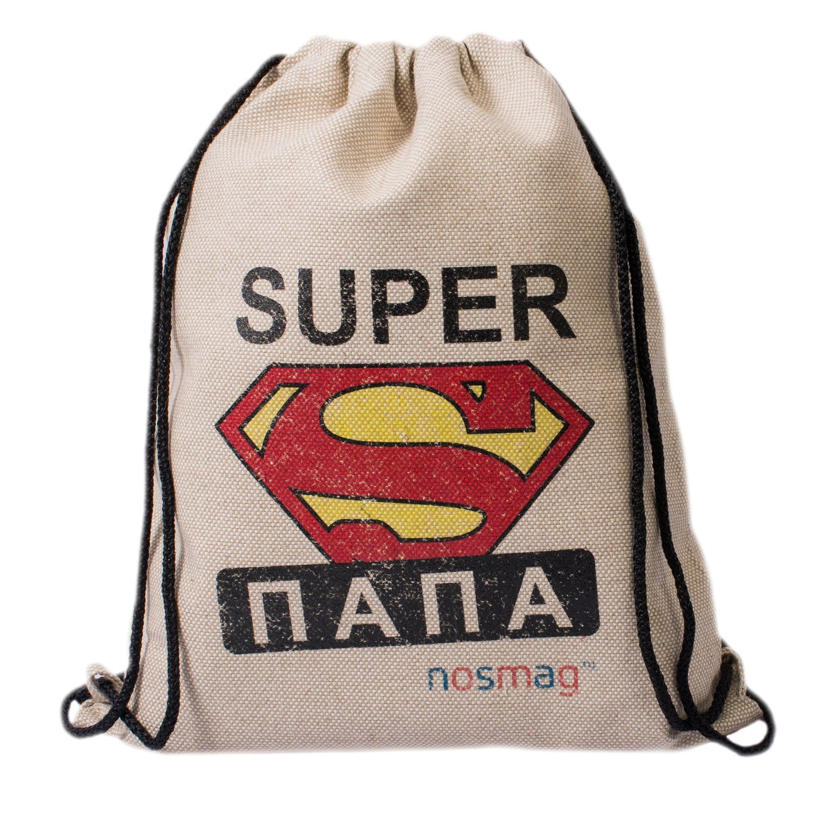 """Set of Business socks 20 pairs in a bag with the inscription """"SUPER Dad"""""""