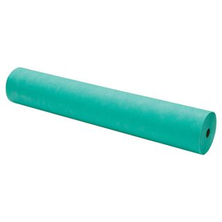 CLEANING / Disposable roll sheets with perforation 100 pcs., 80x200 cm, SMS 14 g / m2, turquoise