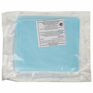 HEXA / Bed sheet, disposable sterile, 140x200 cm, spunbond 25 g / m2, blue