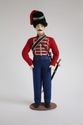 Doll gift. Officer of the don Cossack army in dress uniform. From the 1800's. Russia. - view 1