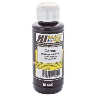 HI-BLACK ink for CANON universal, black, 0.1 l, pigment