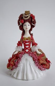 Doll gift. Princess. A fabulous image of the 18th century