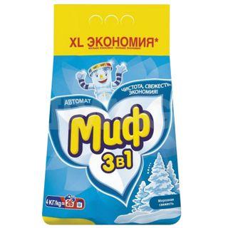 """Washing powder-machine MYTH 3 in 1 """"Frosty freshness"""" 4 kg"""