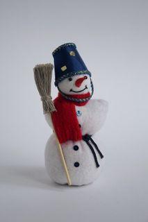Doll gift. Snowman