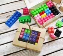 The soap set handmade with LEGO