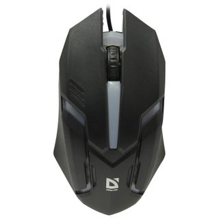 DEFENDER / Wired Mouse CYBER MB-560L, USB, 2 buttons + 1 wheel-button, optical, black