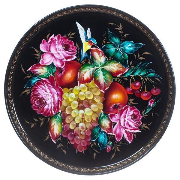 Zhostovo / Tray, by Yurasov V. 37 cm