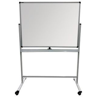 The chalk Board/magnetic marker ON the STAND (90x120 cm), 2-sided, green/white, BRAUBERG