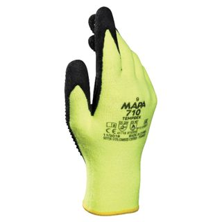 MAPA / Textile gloves TempDex 710, nitrile coating, high thermal protection, size 9 (L)