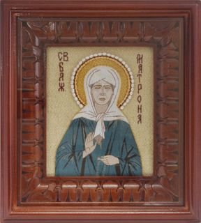 "Icon ""Holy Blessed Matron"""