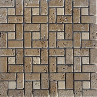 Mosaic made of granite, silicon, natural stones