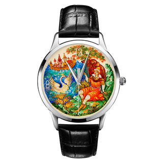 "Palekh watch ""The Swan Princess №60"