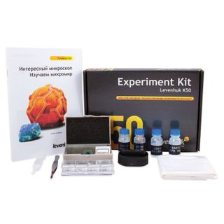 LEVENHUK / Kit for experiments with a microscope K50