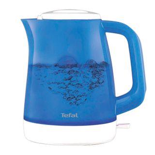 Kettle TEFAL KO151430, 1.5 litres, 2400 w, closed heating element, plastic, blue