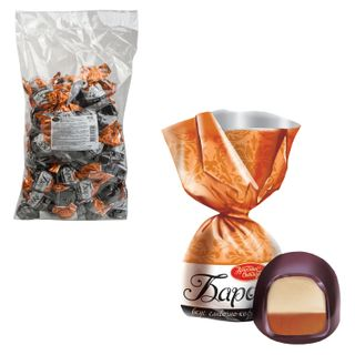 """RED OCTOBER / Chocolate sweets """"Baroque"""", creamy coffee cream, 1000 g, package"""