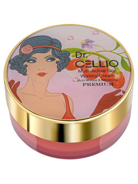 This multi-action cream with Goji berries, Dr. CELLIO