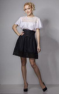 Skirt women's Giselle knee length