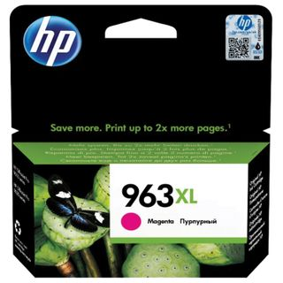 HP Inkjet Print Cartridge (3JA28AE) for HP OfficeJet Pro 9010/9013/9020/9023 Magenta # 963XL, yield 1600 pages