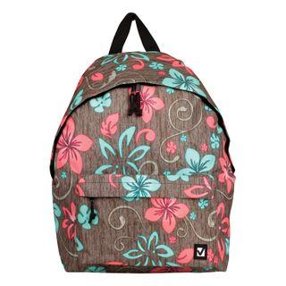 Backpack BRAUBERG universal, city size, brown, Mint, 20 liters, 41х32х14 cm