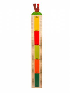 "Wooden height chart ""the chicken"""