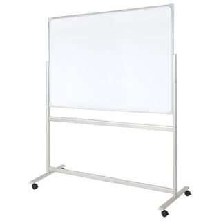 Board magnetic marker ON the STAND (100x150 cm), 2-party, OFFICE,