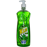Liquid for washing dishes CLER Aloe 1L with a dispenser