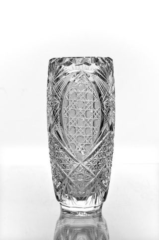 """Crystal vase for flowers """"Charm"""" colorless"""