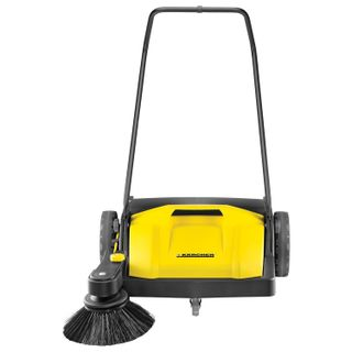 Sweeper KARCHER (KARCHER) S750, manual, 1 brush, performance 2500 m2/h, yellow