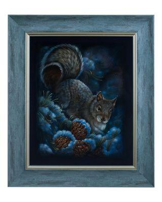 Zhostovo / Painting by Letkov V. 46x39 cm