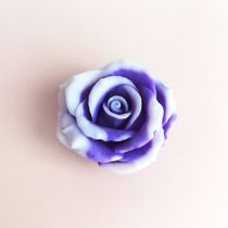 Handmade soap rose purple