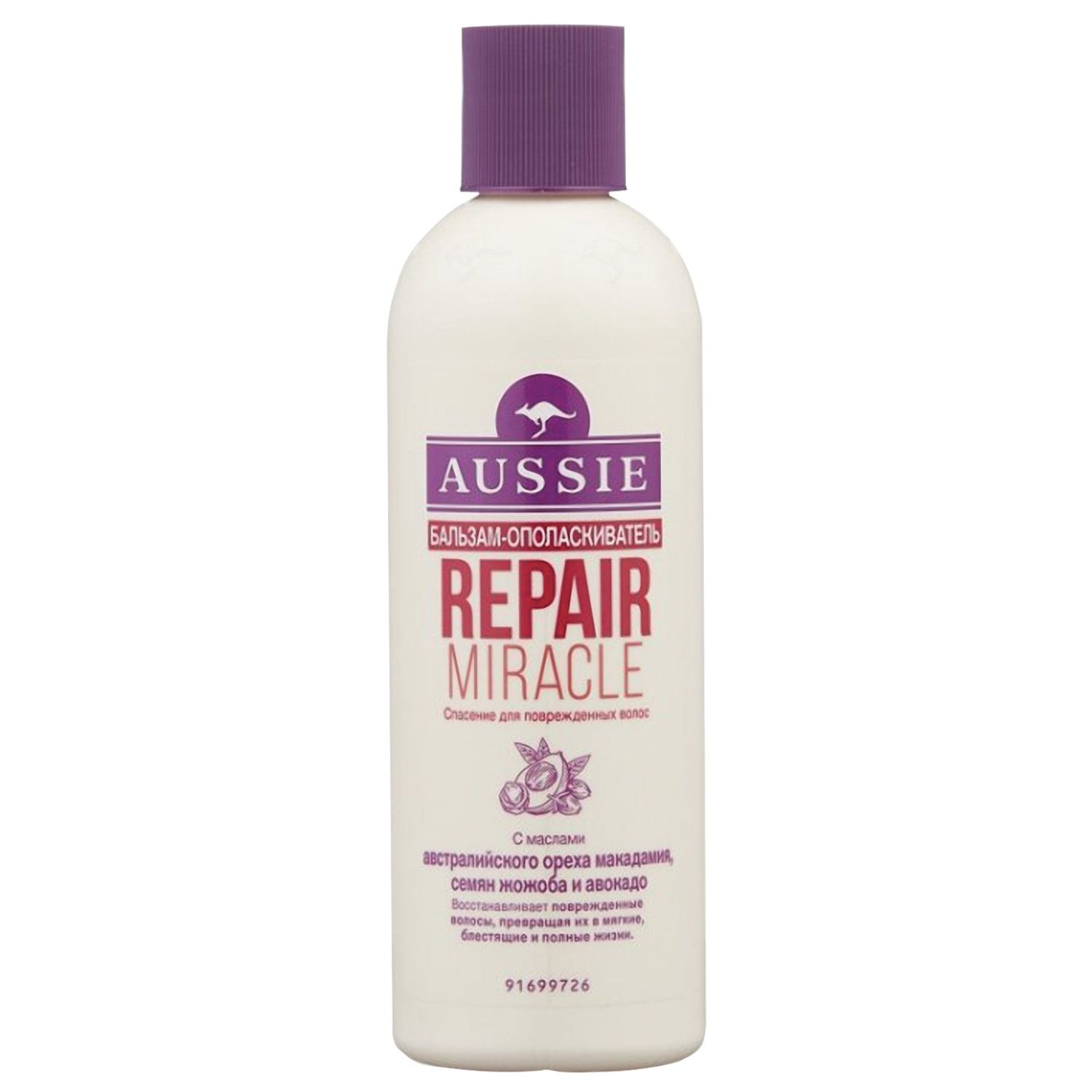 AUSSIE / Repair Miracle Conditioning Conditioner for Dry Hair, 250 ml