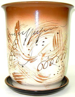 Pots ceramic Cylinder 6 l