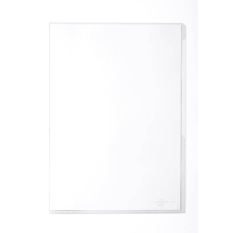 Durable / Binder folder for documents, 150 microns, A4, glossy Transparent