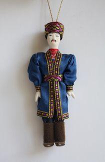 Kazakh costume. Doll gift
