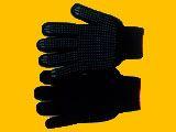 Half-woolen double gloves