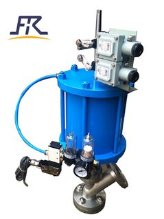 Pneumatic Tank Bottom Angle Valve,Bottom Flush Tank Valve ,Slurry Angle Tank Bottom Valve