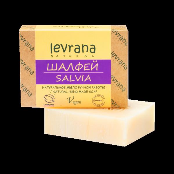 "Natural handmade soap ""Sage"", LEVRANA"