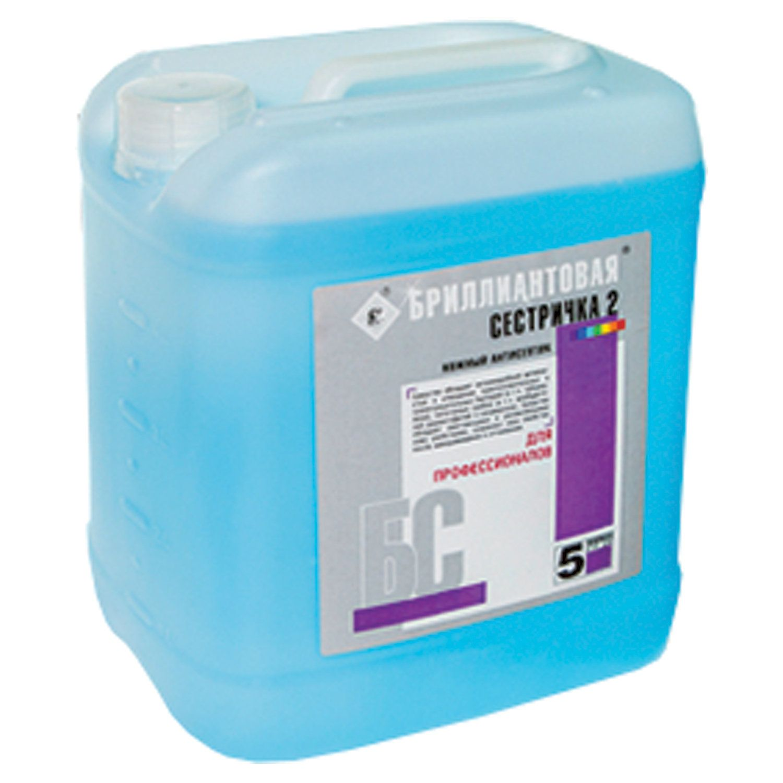 BRILLIANT / Liquid disinfectant soap BRILLIANT SISRICHKA-2 hypoallergenic, 5 l