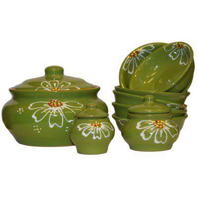 Set for dumplings Daisy green (R.Sel.)
