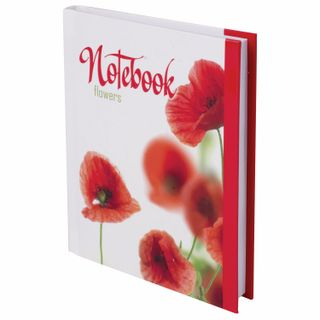 Small FORMAT Notebook (110x147 mm) A6, 80 sheets, laminated cover, selective varnish, cage, BRAUBERG,