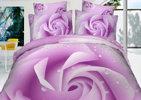 Satin bed linen 3D Frei
